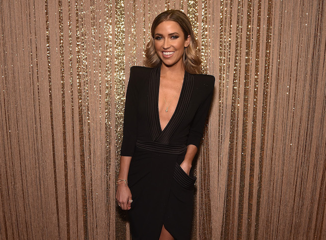 Kaitlyn Bristowe attends the PANDORA Jewelry Shine Collection Launch with Ciara