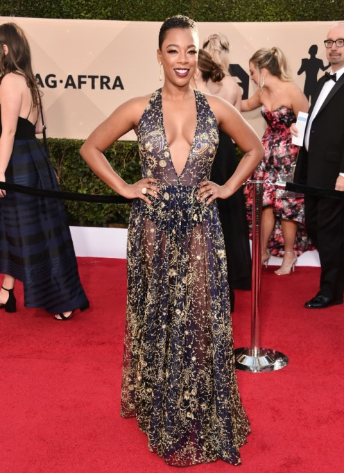 2018 SAG Awards Best Dressed: Samira Wiley