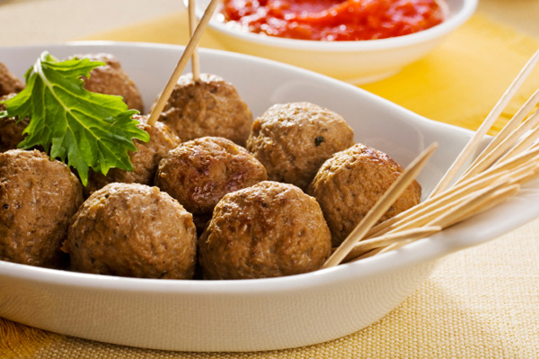 Turkey meatball tapas
