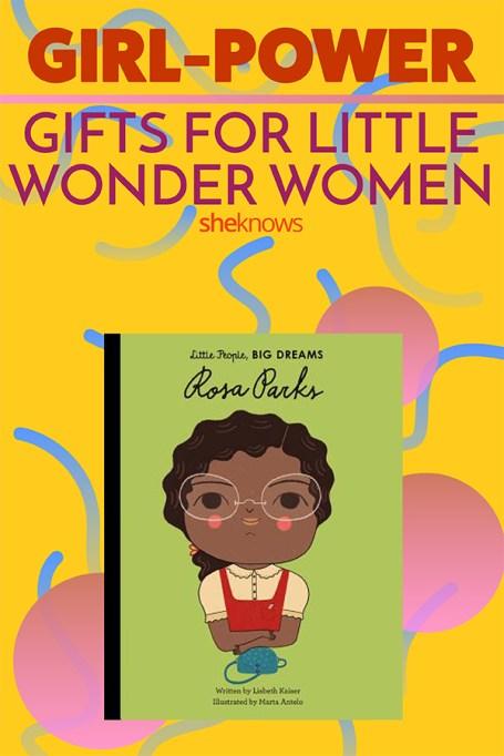 Pin it! Girl Power Gifts For Little Wonder Women