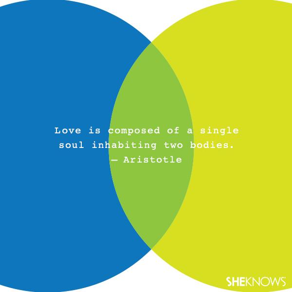 Aristotle love quote