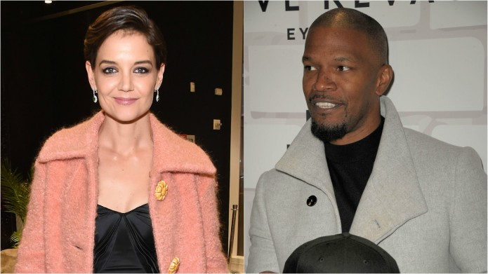 Katie Holmes Still Only Quietly Supports