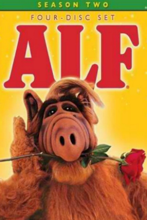 "The Classic TV Show ""ALF"" DVD Cover"