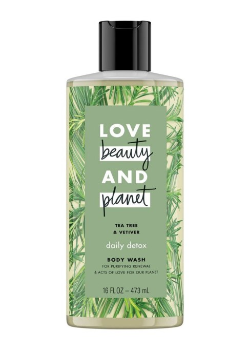 Love Beauty and Planet Tea Tree and Vetiver Body Wash