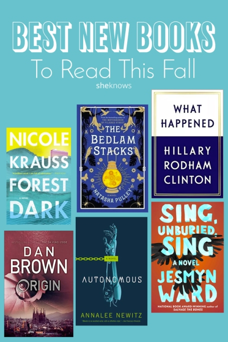 Pin it! The Best New Books to Read This Fall | SheKnows