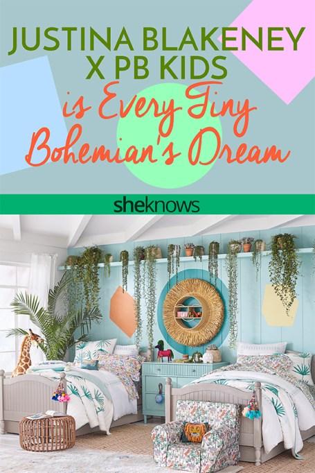 Justina Blakeney X PB Kids is Every Tiny Bohemian's Dream