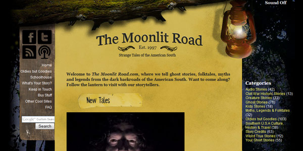 Spooky Podcasts: The Moonlit Road