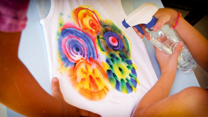 Dissolving ink T-shirts are about to