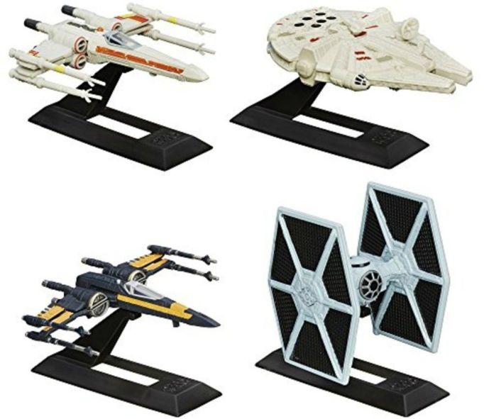 Star Wars Black Series Titanium Series vehicles set