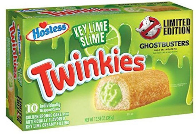 Ghostbusters-themed Twinkies