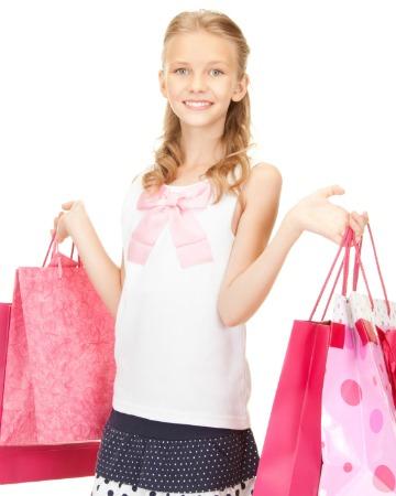 Tween shopping