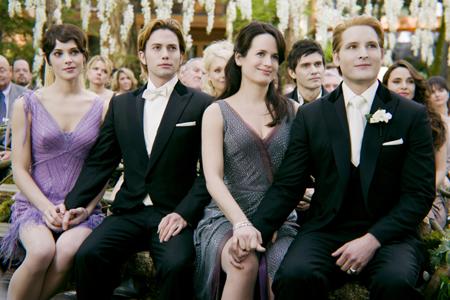 Twilight Breaking Dawn wedding scene