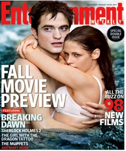 Edward and Bella Entertainment Weekly Cover