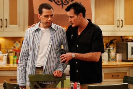 Two and a Half Men premieres on CBS