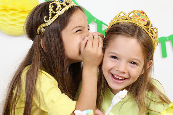 Two princesses dressed up and ready for birthday party | Sheknows.com.au