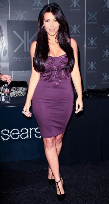 Ultra Violet On The Red Carpet | Kim Kardashian
