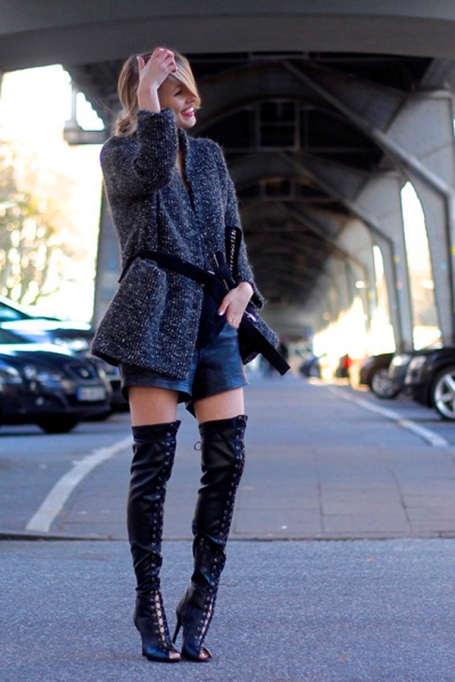 Bloggers Show You How to Wear Shorts for Fall : Ohh Couture