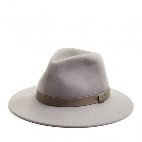 Must-Have Fall Hats: Wide Brim Hat with Faux Leather Band | Fall Fashion Trends
