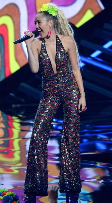 Miley Cyrus VMAs jumpsuit
