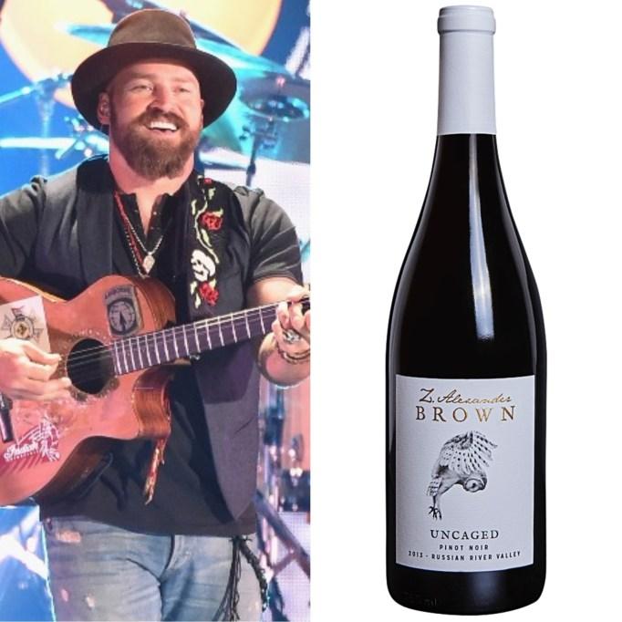 Zac Brown Z. Alexander Brown wine