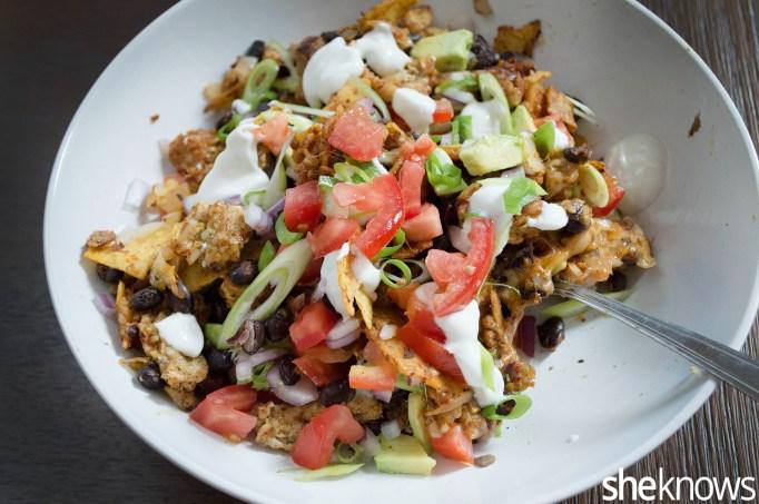 Veggie taco skillet