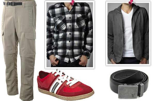 Stock his wardrobe: The sporty guy