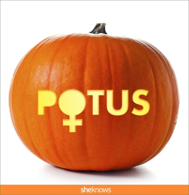 15 Pumpkin Carving Templates That'll Make Your Halloween Downright Presidential
