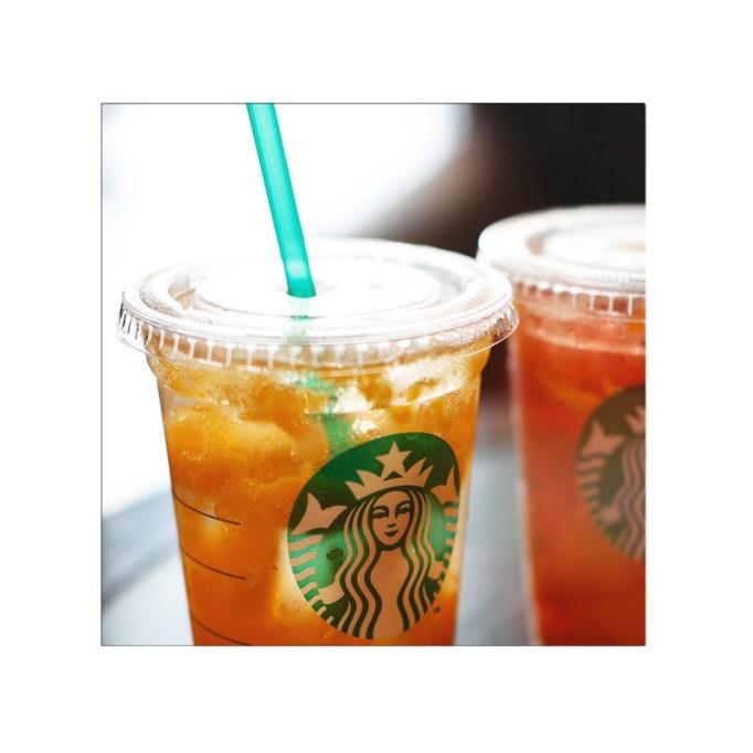 Lemon Ginger Fizzio with Mango Jelly Starbucks