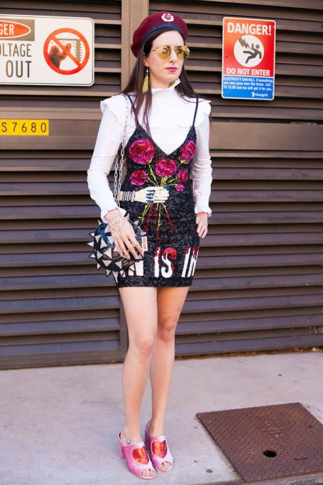 Non-Cheesy Ways to Wear Sequins: The Statement Mini | Fall Fashion Trends 2017