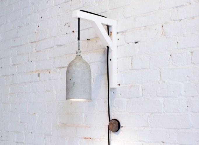 DIY Concrete Designer Lamp