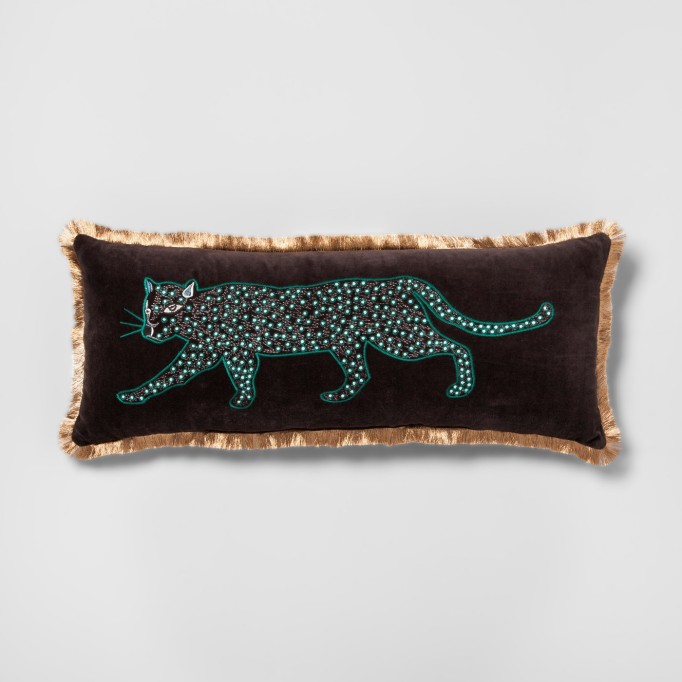 Black panther pillow