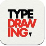 TypeDrawing app