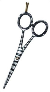 Zebra Print Royal Pro Hair Shears