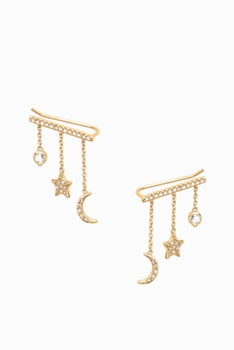 Gorgeous Jewelry Finds That Look Expensive: Rebecca Minkoff Celestial Ear Climbers | Inexpensive Jewelry Trends