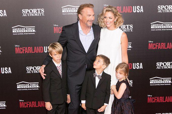 Kevin Costner's kids