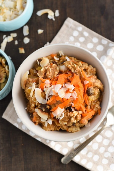 Recipes to give you vitamin D during winter | Overnight Carrot Cake Oatmeal
