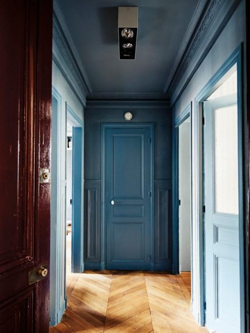 Blue + Blue contrasting colors
