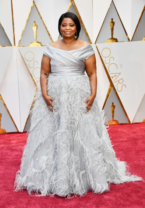 Non-Sample-Size Celebrities: Octavia Spencer Oscars | Celeb Fashion 2017