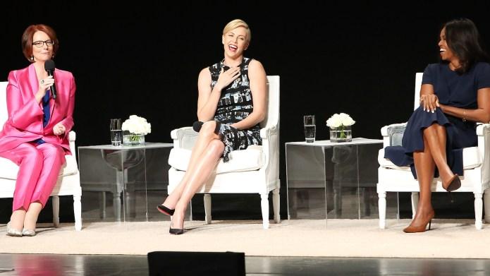 Julia Gillard tells career women to