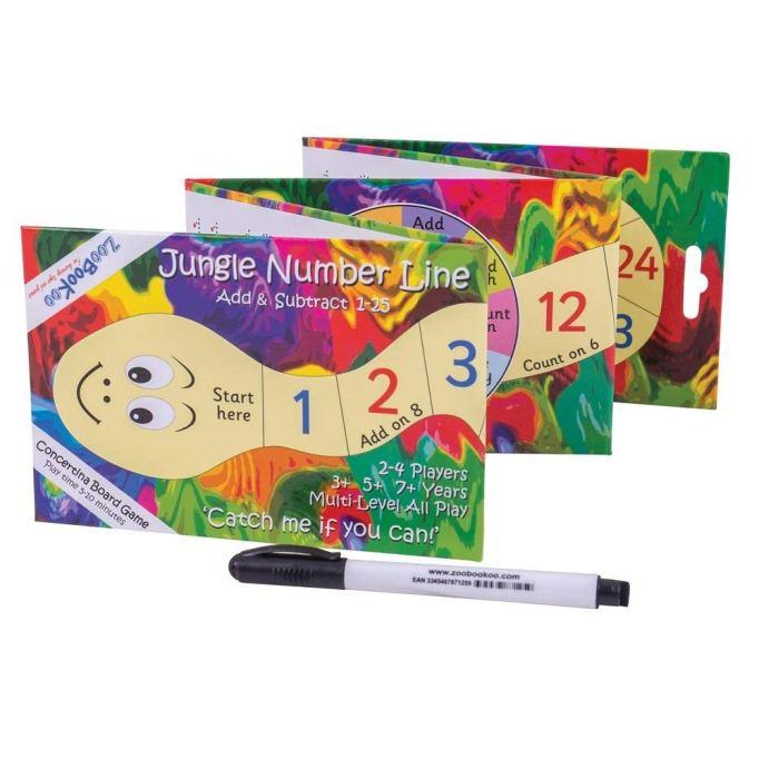 ZooBooKoo's Jungle Number Line