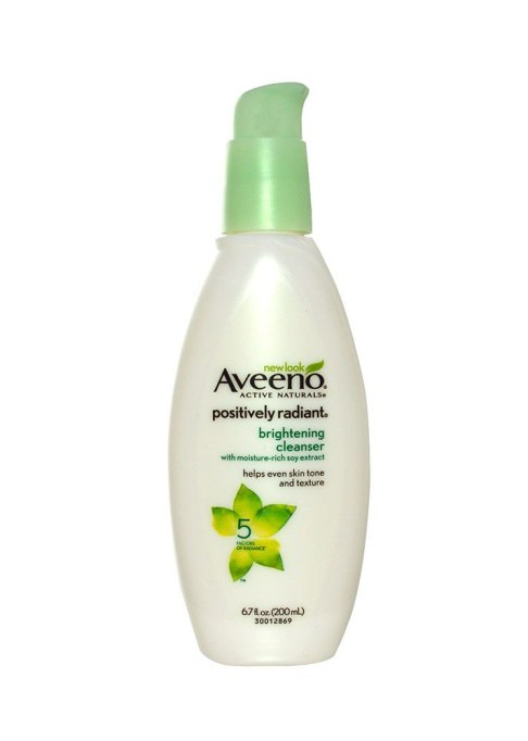 Aveeno Positively Radiant Bright Cleanser