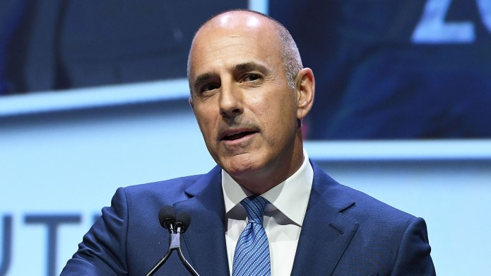 Matt Lauer attends 2017 Matrix Awards
