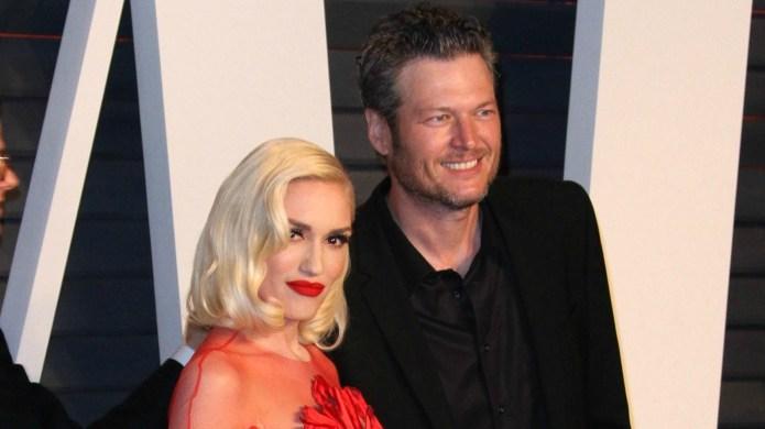 Gwen Stefani & Blake Shelton's love