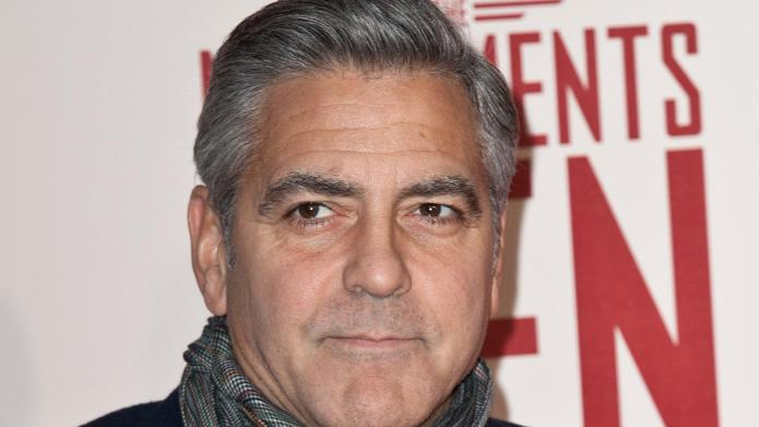 George Clooney holds A-lister engagement bash