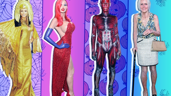 Heidi Klum's Best Halloween Costumes Through