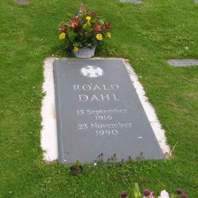 Roald Dahl's grave