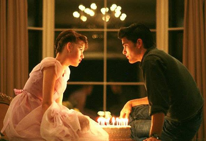 movie kisses Sixteen Candles