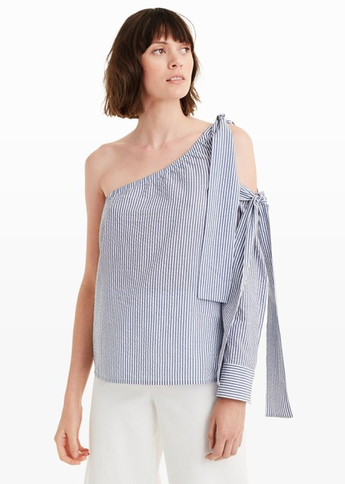 The Most-Pinned Summer Fashion Trends of 2017: Club Monaco Elisabet Top | Summer Fashion Trends