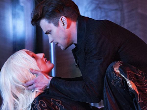 Matt Bomer and Lady Gaga in AHS: Hotel