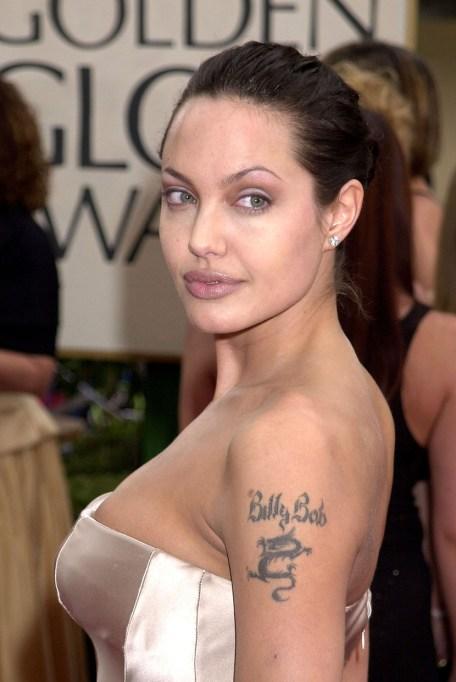Angelina Jolie Thin Eyebrows